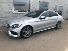 2017 Mercedes-Benz C-Class C 300 AMG SPORT   LEATHER   NAVIGATION   SUNROOF