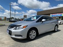 2012 Honda Civic Cpe LX Coupe - 1 RETIRED OWNER!