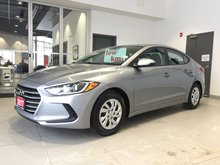 2017 Hyundai Elantra SEDAN - MANUAL TRANS! 1-OWNER!