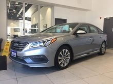 2016 Hyundai Sonata 2.4L SPORT TECH - HEATED SEATS & STEERING WHEEL!