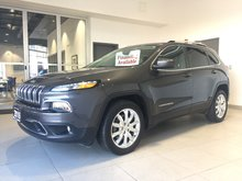 2016 Jeep Cherokee LIMITED - HEATED LEATHER! V6! NAVIGATION!