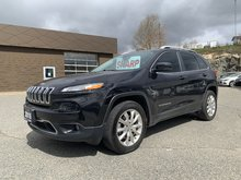 2016 Jeep Cherokee LIMITED V6 AWD - 271 HP! 1-OWNER!