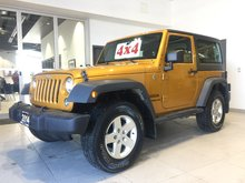 2014 Jeep Wrangler SPORT 4WD - BLUETOOTH! A/C! STEP BARS!