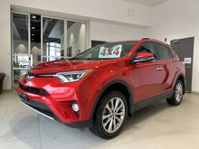 2016 Toyota RAV4 LIMITED AWD - LOADED! LEATHER! MOONROOF!