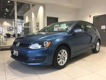 2015 Volkswagen Golf TSi Turbo Comfortline - HEATED SEATS!