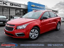 Chevrolet Cruze Limited 1LS  - Certified - $98.49 B/W 2016