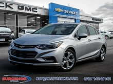 Chevrolet Cruze Premier  - Leather Seats - $130.95 B/W 2018