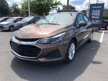 2019 Chevrolet Cruze LT  - Apple CarPlay -  Android Auto - $148 B/W