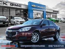 2015 Chevrolet Malibu 1LT  - Bluetooth -  SiriusXM - $91.41 B/W