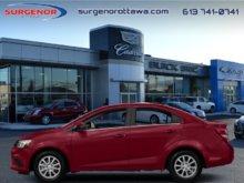 2018 Chevrolet Sonic LT  - Bluetooth - $135.16 B/W