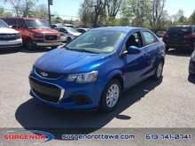 2018 Chevrolet Sonic LT  - Bluetooth - $125.90 B/W