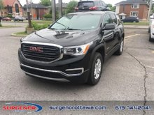 2018 GMC Acadia SLE  -  Bluetooth -  Keyless Entry - $231.93 B/W