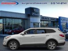 Hyundai Santa Fe XL 3.3L AWD Limited  - $125 B/W 2014