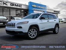 2014 Jeep Cherokee 4x2 Sport  - $115 B/W