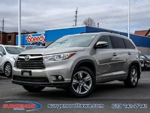 Toyota Highlander Limited  - Navigation -  Sunroof - $282.30 B/W 2016