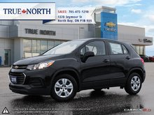 2019 CHEVROLET TRUCK TRAX 4DR SUV FWD LS