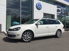 2013 Volkswagen Golf wagon **DIESEL** Highline DSG