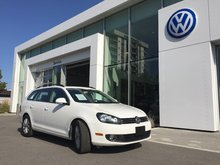 2013 Volkswagen Golf wagon **DIESEL** HIGHLINE