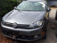 2014 Volkswagen Golf wagon Diesel