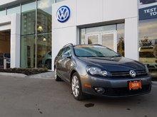 2014 Volkswagen Golf wagon Diesel, Certified!