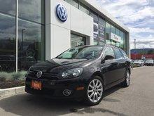 2014 Volkswagen Golf wagon **DIESEL** Wolfsburg Edition DSG