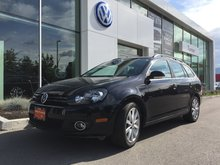 2014 Volkswagen Golf wagon **DIESEL** HIGHLINE MANUAL W/ NAVIGATION