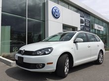 2014 Volkswagen Golf wagon **DIESEL** WOLFSBURG EDITION MANUAL W/ NAVIGATION