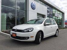 2012 Volkswagen Golf **DIESEL** COMFORTLINE W/ SUNROOF