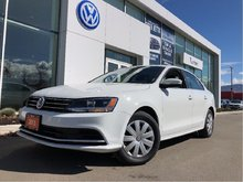 2015 Volkswagen Jetta Trendline+ 1.8T W/Sunroof
