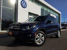 2015 Volkswagen Tiguan Trendline FWD Manual