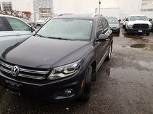 2016 Volkswagen Tiguan 4-Motion all wheel drive
