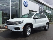 2016 Volkswagen Tiguan SPECIAL EDITION 4MOTION W/ WINTER TIRE PACKAGE