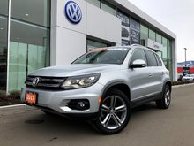 2017 Volkswagen Tiguan 4-motion all wheel drive, loaded
