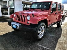 2015 Jeep Wrangler Unlimited Sahara with WARRANTY