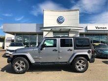 2017 Jeep Wrangler Unlimited Sahara WITH WARRANTY