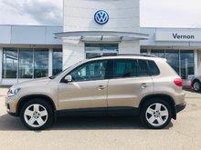 2016 Volkswagen Tiguan Comfortline 4 motion awd