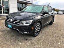 2018 Volkswagen Tiguan Comfortline with WARRANTY