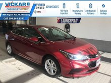 2018 Chevrolet Cruze LT REMOTE START, BOSE, SUNROOF !!!  - $122.96 B/W