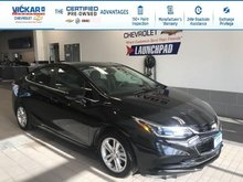 2018 Chevrolet Cruze LT REMOTE START, BOSE, SUNROOF !!!  - $135.79 B/W