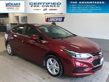 2018 Chevrolet Cruze LT  BOSE AUDIO, SUNROOF, HEATED SEATS  - $140.65 B/W
