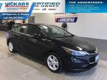 2018 Chevrolet Cruze LT  BOSE AUDIO, SUNROOF, HEATED SEATS  - $133 B/W