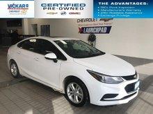 2018 Chevrolet Cruze LT  BOSE AUDIO, SUNROOF, HEATED SEATS  - $125.83 B/W