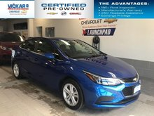 2018 Chevrolet Cruze LT BOSE AUDIO, SUNROOF, HEATED SEATS  - $137.29 B/W