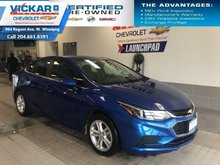 2018 Chevrolet Cruze LT, BOSE AUDIO, SUNROOF, BACK UP CAMERA  - $129.85 B/W