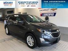 2018 Chevrolet Equinox LT,  FWD, HEATED SEATS, REMOTE START  - $187.11 B/W