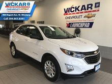 2018 Chevrolet Equinox LS  FWD, AUTOMATIC, AIR CONDITIONING, ALLOYS  - $174 B/W