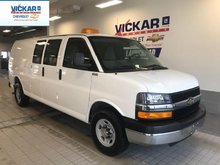 2014 Chevrolet Express Cargo Van Cargo  RWD, 4.8L V8, INSULATED INTERIOR WALLS, BEACON EQUIPPED  - $132.90 B/W