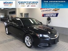 2015 Chevrolet Impala V6, SUNROOF, DUAL CLIMATE CONTROL, LEATHER SEATS  - $152.15 B/W