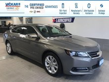 2018 Chevrolet Impala LT V6, LEATHER,SUNROOF,REMOTE STARTER  - $160.68 B/W
