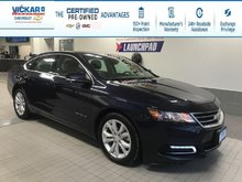 2018 Chevrolet Impala LT V6, LEATHER, SUNROOF, REMOTE START   - $176.98 B/W